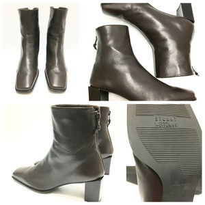 Stuart-Weitzman-Square-Toe-Back-Zip Boots